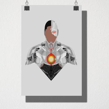 Poster A3 Cyborg