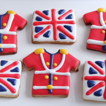 Biscoitos/Bolachas decoradas no tema Soldadinho de Chumbo
