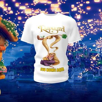 Camiseta Camisa Blusa Disney Rapunzel