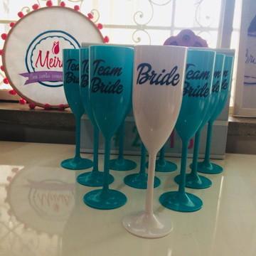 Kit 10 Taças Bride, Team Bride