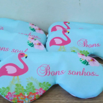 Tapa Olho Personalizado Flamingo