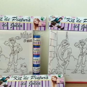 Kit Tela de Pintura Enrolados com Lapela