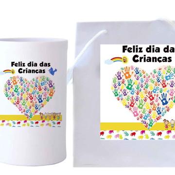 Presente para crianças - Sacolinha, Caneca, #crianças