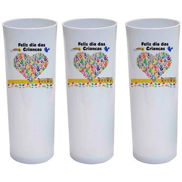 Copo para crianças - Feliz dia das crianças - lembrança
