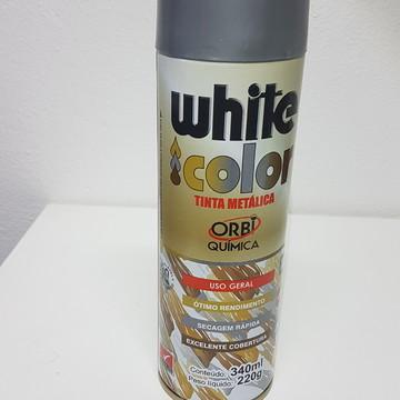 Tinta Metálica em Spray - Prata