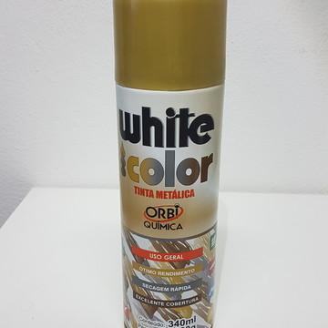 Tinta Metálica em Spray - Dourado