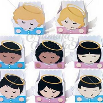 Arquivo Digital Silhouette caixinhas anjo 1
