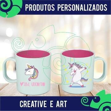 Caneca Personalizada Unicornio