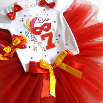 Fantasia Tutu infantil Carnaval