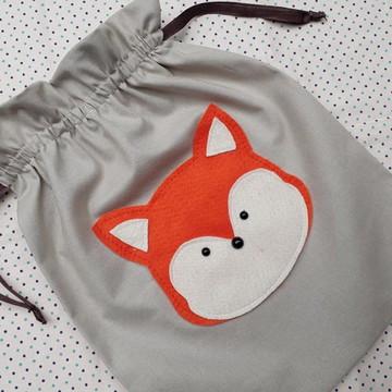 Saquinho surpresa raposinha