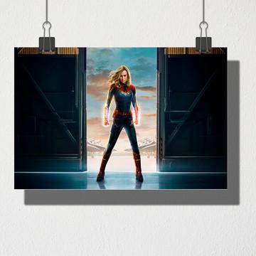 Poster A3 Capitã Marvel
