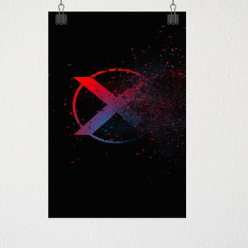 Poster A3 X-man