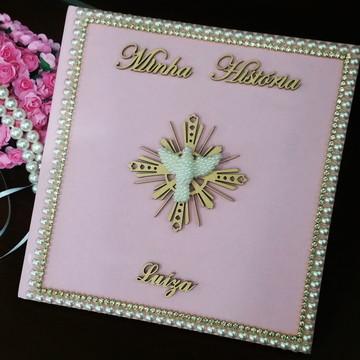 Livro do Bebê Luxo - Divino Espírito Santo