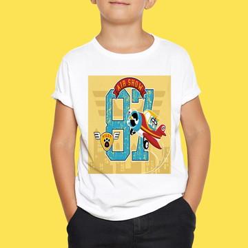 Camiseta Infantil Air Show