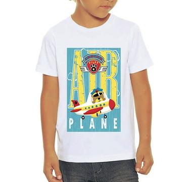 Camiseta Infantil Air Plane