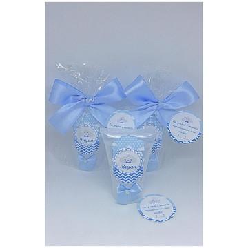Lembrança maternidade- Álcool em gel- Chuva de bençãos