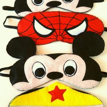 Máscaras em feltro temas variados