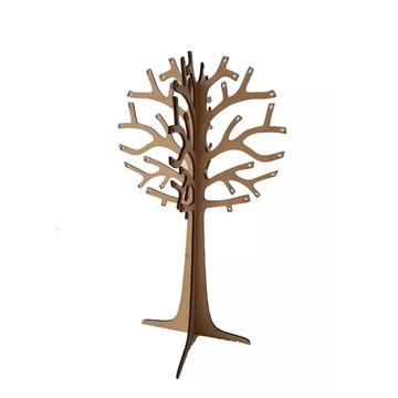 Árvore Porta Brincos Anéis Pulseiras Correntes Etc Mdf Crú