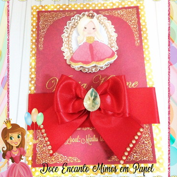 Convite Realeza Menina
