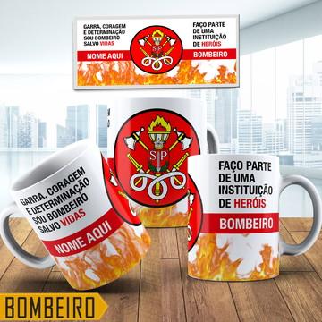 Caneca Personalizada Bombeiros De Sao Paulo