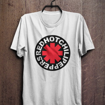 camiseta masculina Red Hot Chili Peppers