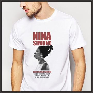 Camiseta Música Nina Simone