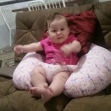 Almofada senta bebê