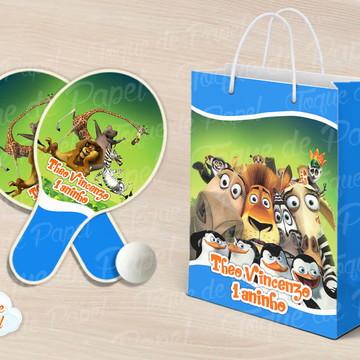 Kit Ping Pong sacola Madagascar