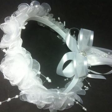 Headband de flores para Damas de Honra