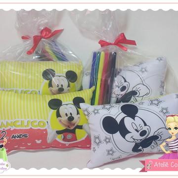 Almofada Pinte e Lave 15x20 - Mickey