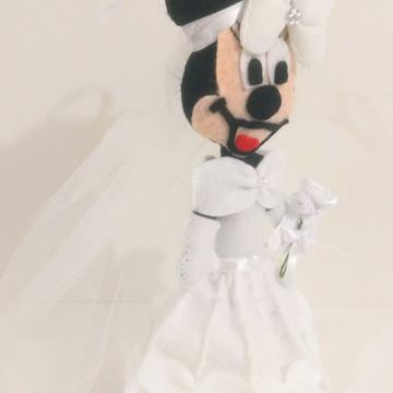 Boneca - Minnie Mouse Noiva