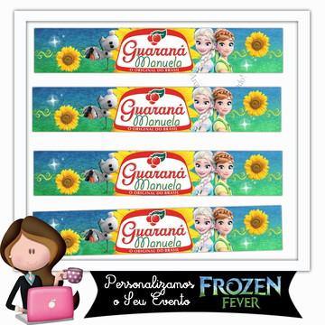 Rótulo para guaraná frozen fever