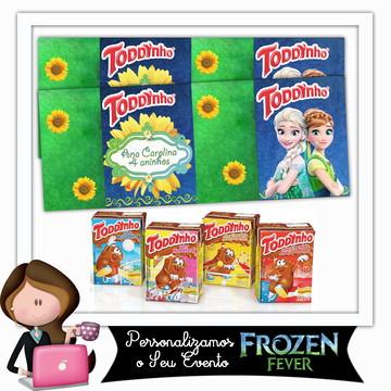 Rótulo para toddynho frozen fever