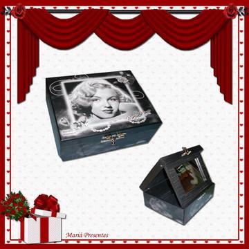Marilyn Monroe caixa de maquiagem