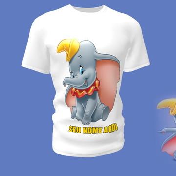 Camiseta Camisa Blusa Disney Dumbo