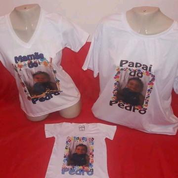 Camisetas Zodiac Artigos Kit 3 Peças Para Evento