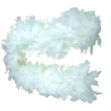 Estola de Pluma Branco