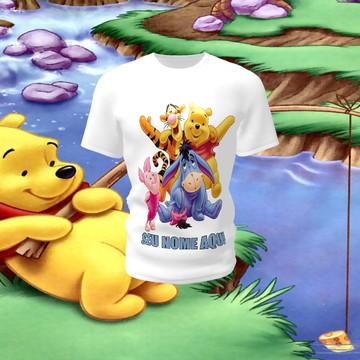 Camiseta Camisa Blusa Disney Ursinho Pooh