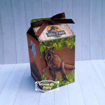 Caixa milk jurassic park