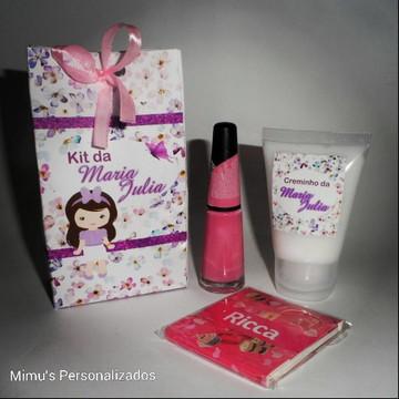 Kit Manicure Personalizado - Casa de Boneca