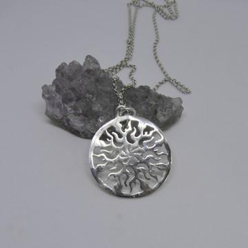 Mandala Energia de Prata