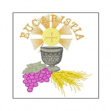 Matriz Bordado Eucaristia Batizado Batismo Matrizes