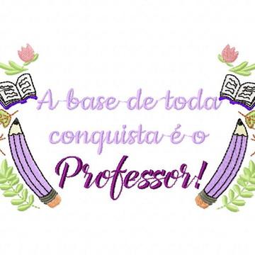 Matriz Bordado Professor Professora Agulha Feliz Matrizes