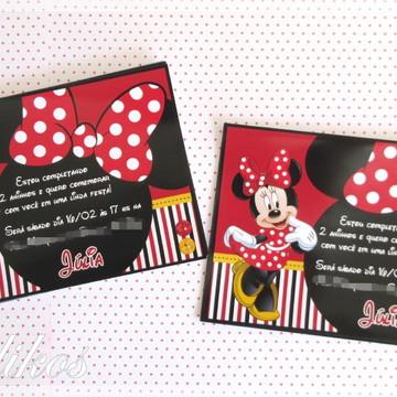 Convite - Minnie