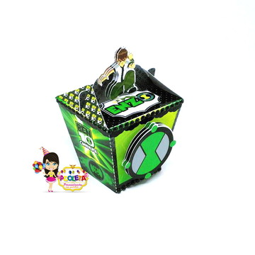 caixa sushi BEN 10