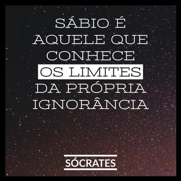 Quadro limites da ignorância - Por Sócrates