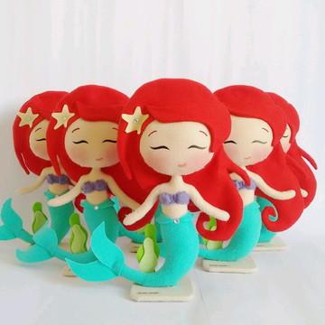 A Pequena Sereia Ariel - Centro de Mesa