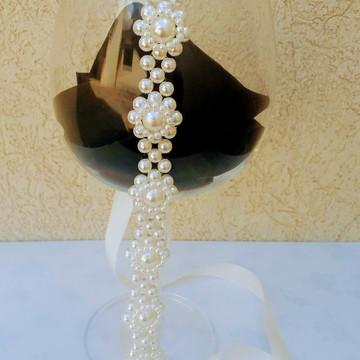 Tiara Headband Noiva de Peróla