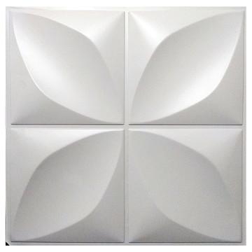 KIT 15M² PLACAS 3D Pvc PÉTALAS-60 PLACAS 50X50cm