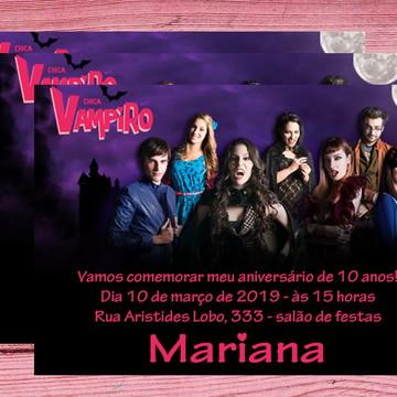 Convite Chica Vampiro